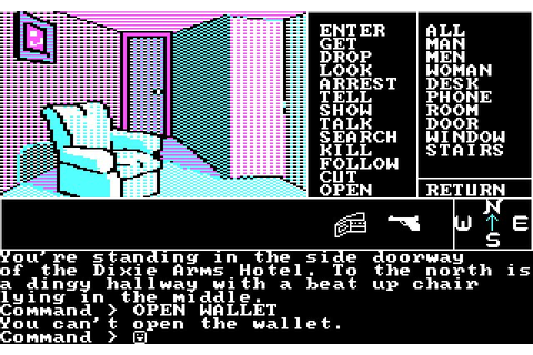 Download Borrowed Time adventure for DOS (1985 ...