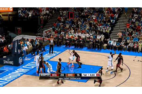 Compare NBA Live 13's gameplay with this video which would ...
