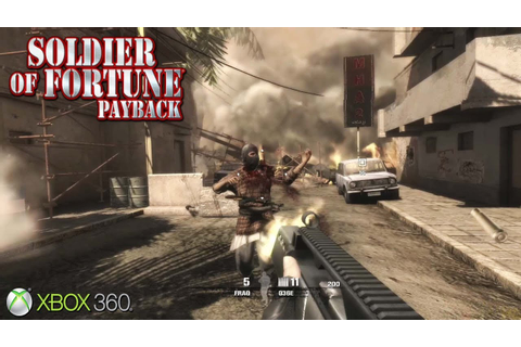Soldier of Fortune: Payback - Xbox 360 / Ps3 Gameplay ...