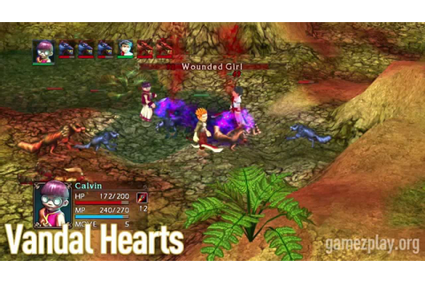 Vandal Hearts exclusive screenshots HD video game trailer ...