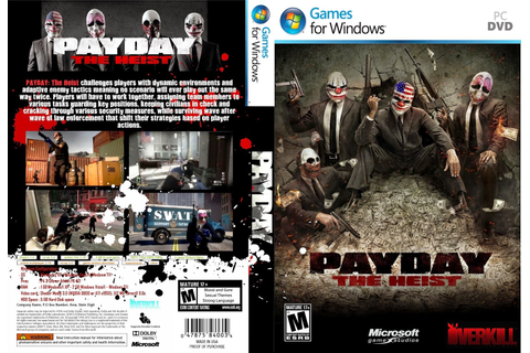 Free Download Game Payday 1 : The Heist Full Version