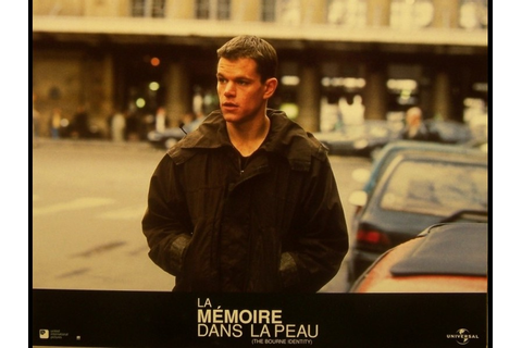 Photo du film MÉMOIRE DANS LA PEAU (LA) - THE BOURNE ...