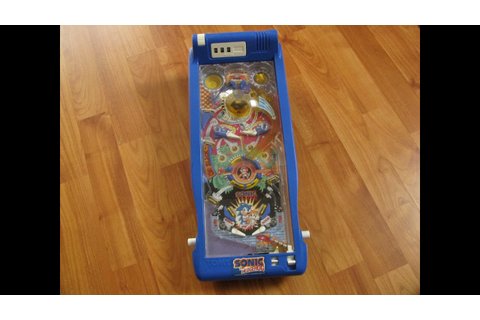 Supersonic Pinball Game - Sonic the Hedgehog Pinball ...