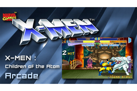 X-MEN : Children of the Atom - Arcade - 1994 - 1 Credit ...