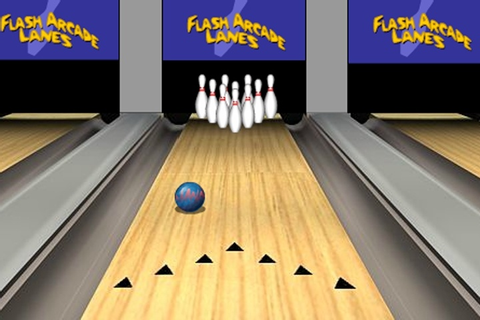 Flash Arcade Lanes Game - Bowling games - Games Loon