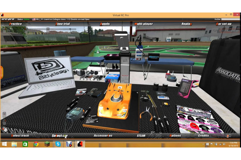 VRC Pro RC Racing Game PC With NapzTV - YouTube