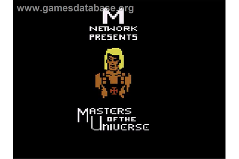 Masters of the Universe: The Power of He-Man - Atari 2600 ...
