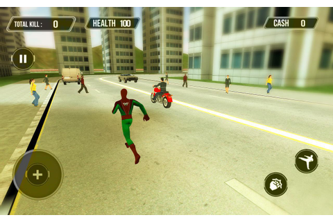 Super Hero Gangster Crime City - Open World Game for ...