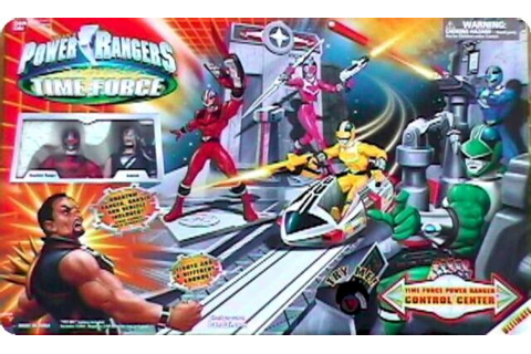 "Power Rangers Time Force Control Center W 5"" RANSIK ..."