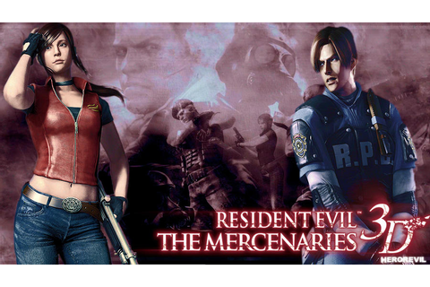 Resident Evil: Mercenaries 3D by LeonHeroREVIL on DeviantArt