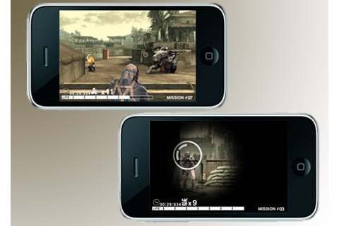 Apple iPhone and iPod touch get full version of Metal Gear ...