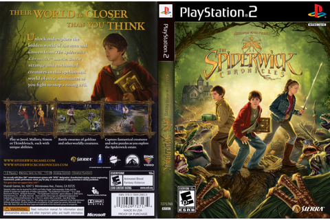 GAME PS2: The Spiderwick Chronicles