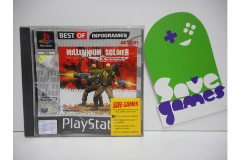 Millennium Soldier Expendable - Save Games
