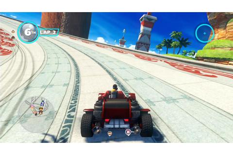 First image of Pyro in Sonic and All-Stars Racing ...