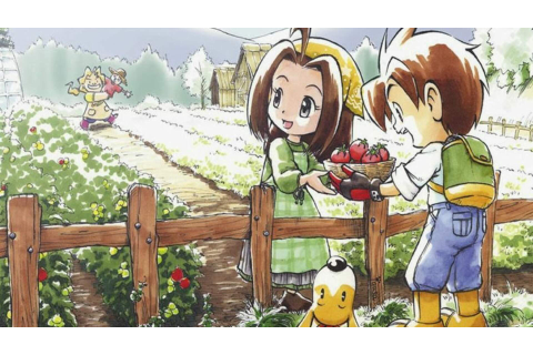 Beloved GBA Game Harvest Moon: Friends of Mineral Town is ...