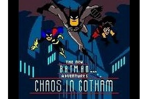 Batman - Chaos in Gotham (Game Boy Color) - YouTube