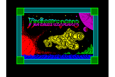Super Adventures in Gaming: Nonterraqueous (C64) - Guest Post
