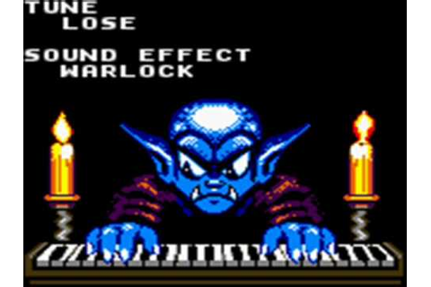 Warlocked (Game Boy) - Lose - YouTube