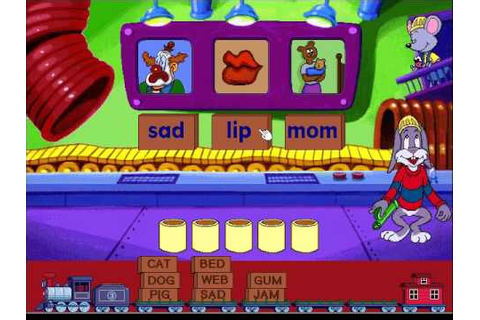 Reader Rabbit's Reading 1: Labeler Game, Level 3 - YouTube