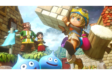 Annunciato Dragon Quest Builders 2 con un nuovo video gameplay