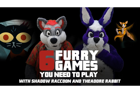 Six Furry Video Games You Should Be Playing - YouTube