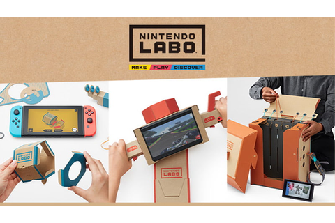 Nintendo Labo takes video game crafting to the next level ...