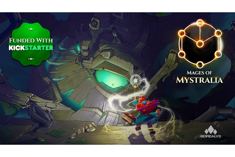 Mages of Mystralia by Borealys Games —Kickstarter