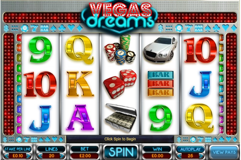 Vegas Dreams Online Slot Game