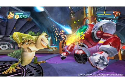 Monsters vs Aliens - Download game PS3 PS4 RPCS3 PC free