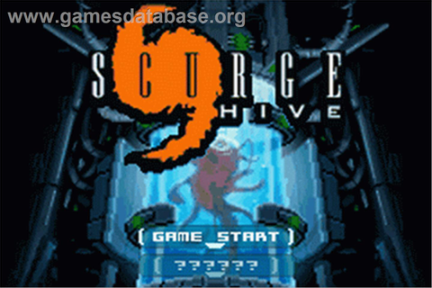 Scurge: Hive - Nintendo Game Boy Advance - Games Database