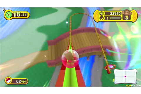Super Monkey Ball - Step and Roll (USA) Nintendo Wii ISO ...