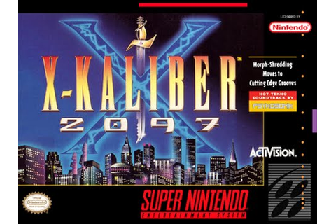 Is X-Kaliber 2097 Worth Playing Today? - SNESdrunk - YouTube