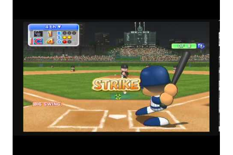 MLB Power Pros 2008 (Wii) NLDS Game #3 Rockies @ Cubs ...