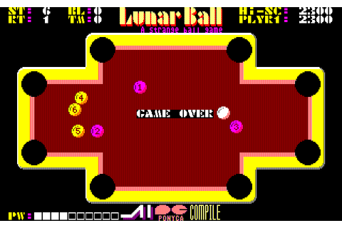 Download Lunar Pool - My Abandonware