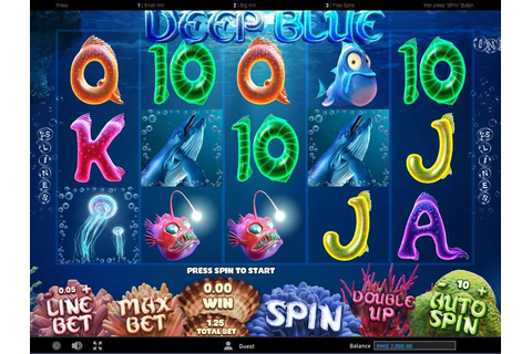 Play Deep Blue Video Slot from Gameplay Interactive for Free
