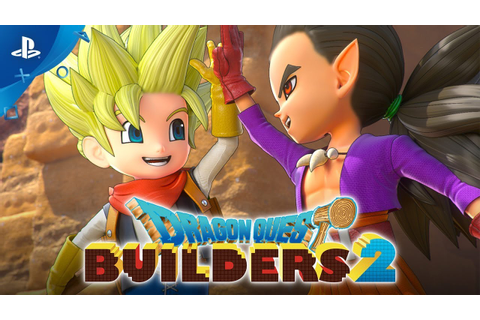 Dragon Quest Builders 2 - Boy Builder Opening Movie | PS4 ...