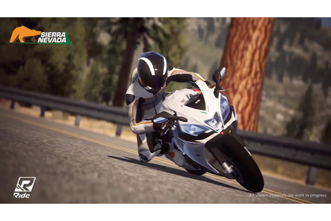 RIDE - Gameplay Sierra Nevada on Aprilia RS4 V R ABS (2015 ...
