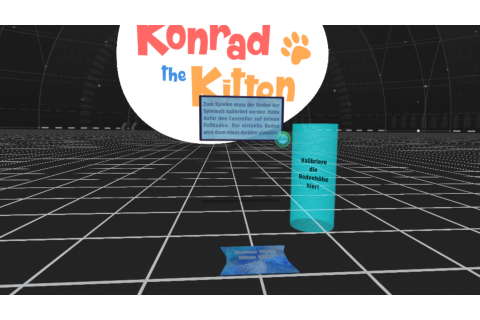 Konrad the Kitten - a virtual but real cat on Steam