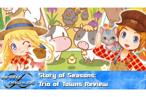 Story of Seasons: Trio of Towns Review - YouTube