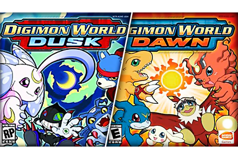Digimon World Dawn/Dusk [NDS][Español] - [MG - MF 2017 ...