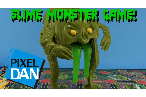 Slime Monster Game Mattel 1977 Board Game Video Review ...
