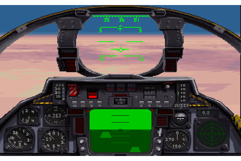 F-14 Fleet Defender by Microprose Japan NEC PC9801 game