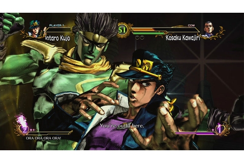 JoJo's Bizarre Adventure All Star Battle PS3 Review ...