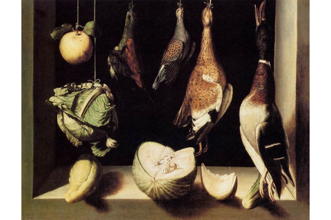 File:Fra Juan Sánchez Cotán - Still-Life with Game Fowl ...