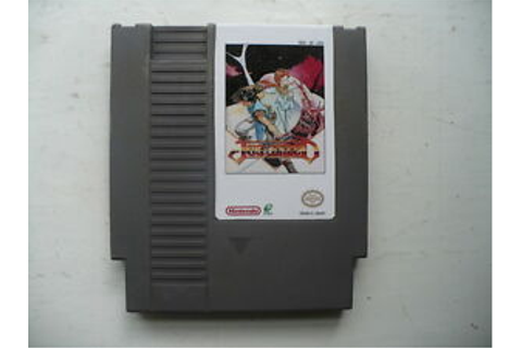 NTSC NES Just Breed reproduction game cart VERY RARE uses ...