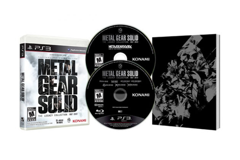 Game Metal Gear Solid: The Legacy Collection - PS3 Kon