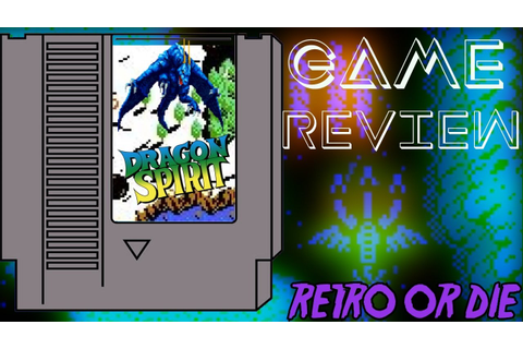 Dragon Spirit: The New Legend (NES) Game Review - YouTube