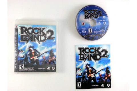 Rock Band 2 (game only) game for Playstation 3 (Complete ...