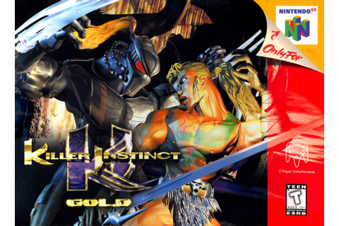 Killer Instinct Gold Nintendo 64 Game