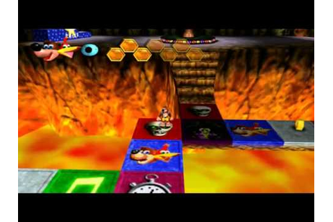 Banjo Kazooie - Grunty's Board Game - YouTube